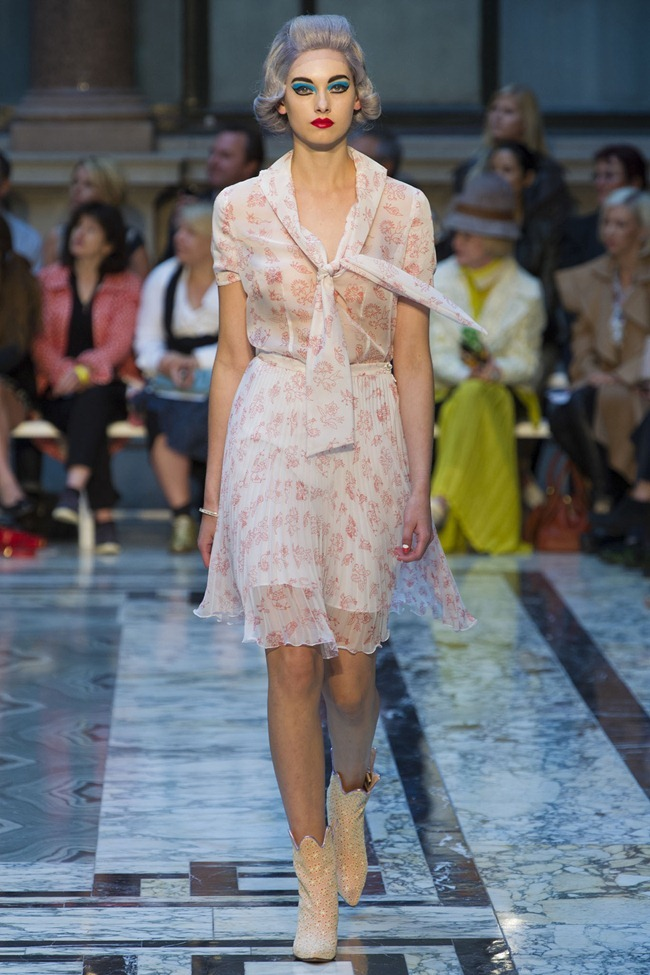 Moda: Amores de fashion week