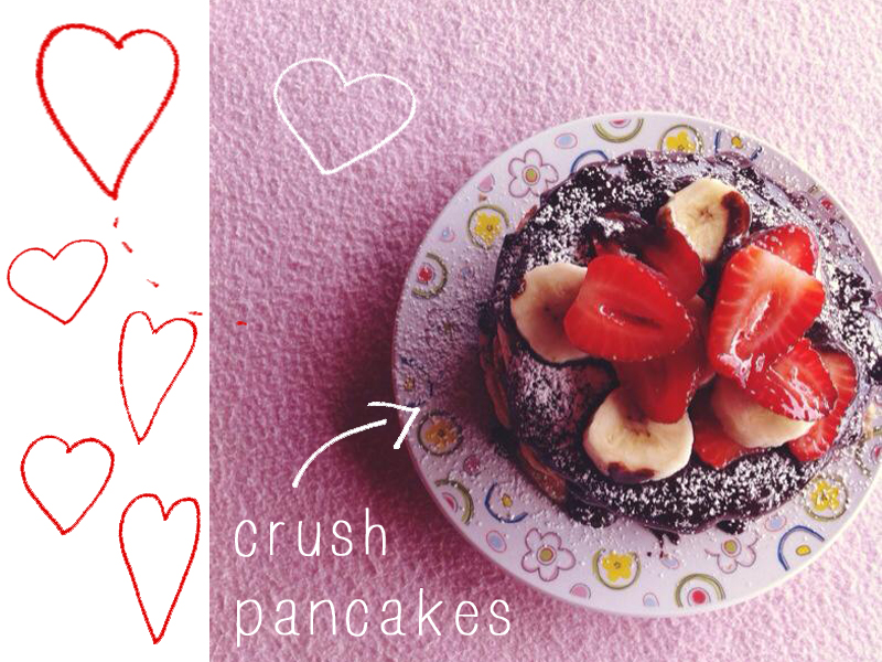 crush pancakes
