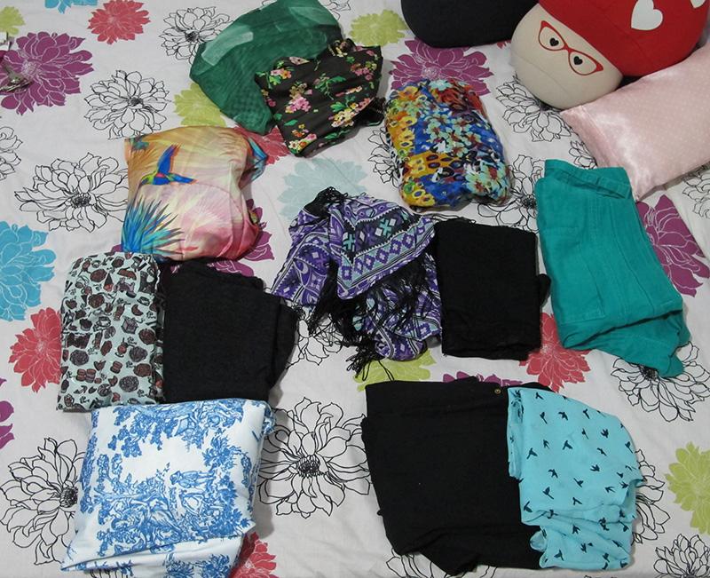 roupas arrumar mala dicas