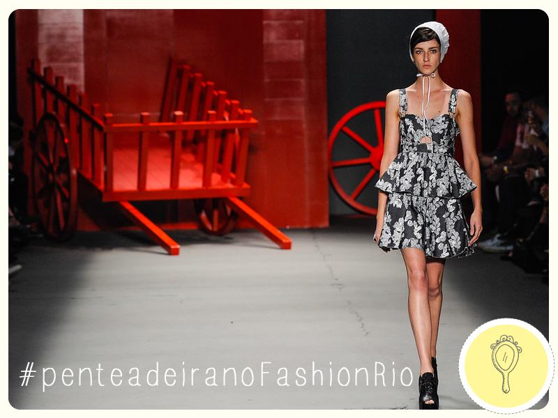 Moda  Penteadeira no Fashion Rio verão 2015  ee80cd9db4a