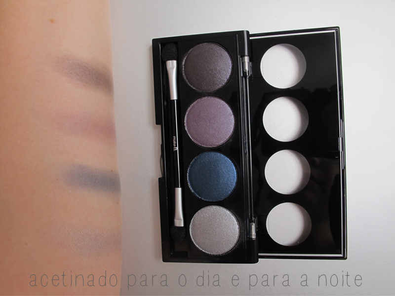 o boticário make b. universe collection quartetos de sombras baked blue