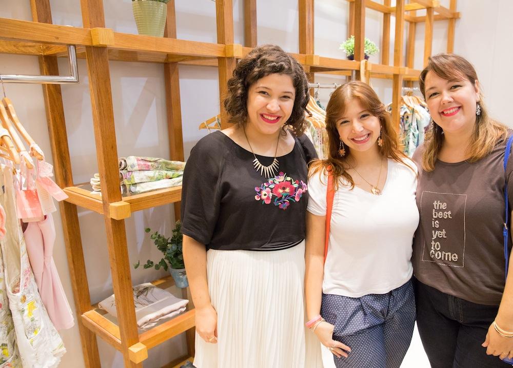 Aline Montenegro, Larissa Viegas e Alinne Rodrigues