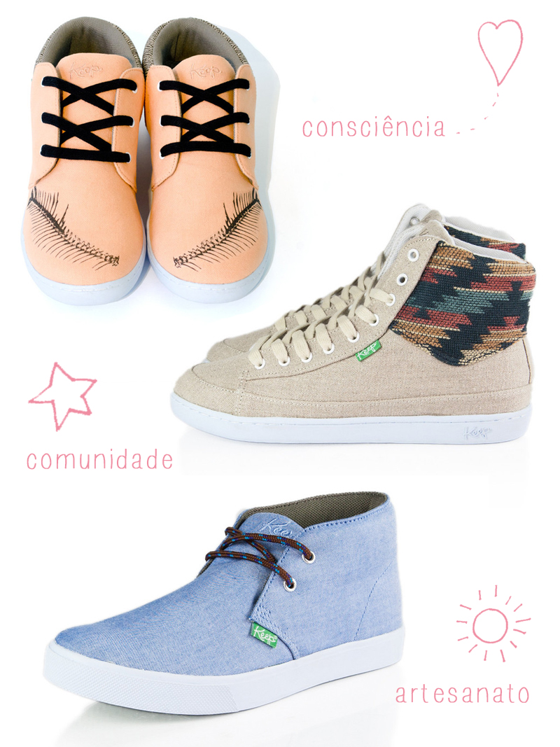 sapatos ecológicos keep