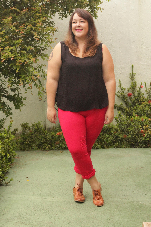 23619cc9bce7 Plus size: Look vermelho e preto pra vida | Penteadeira Amarela