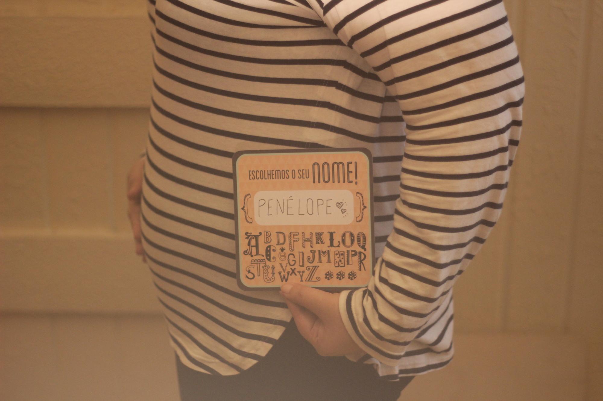 gravidez nome de menina penelope