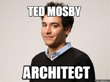 ted mosby architect