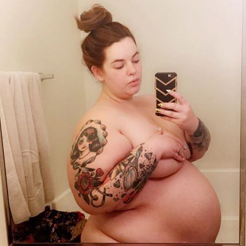 gravidez tess holliday