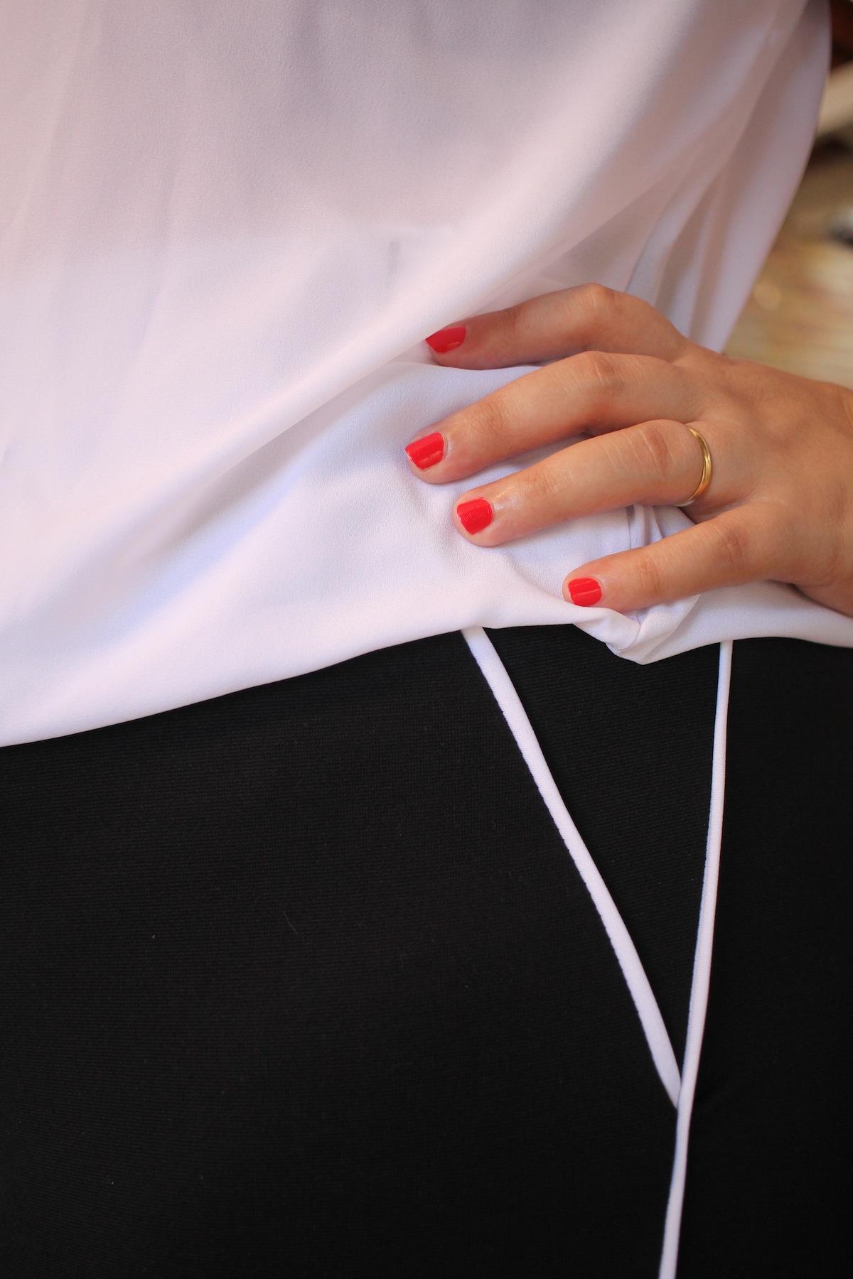 78997c150c72 Plus size: Look esporte chique em preto e branco | Penteadeira Amarela
