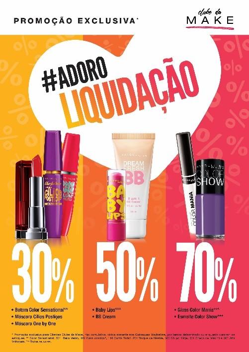 #adoroliquidação