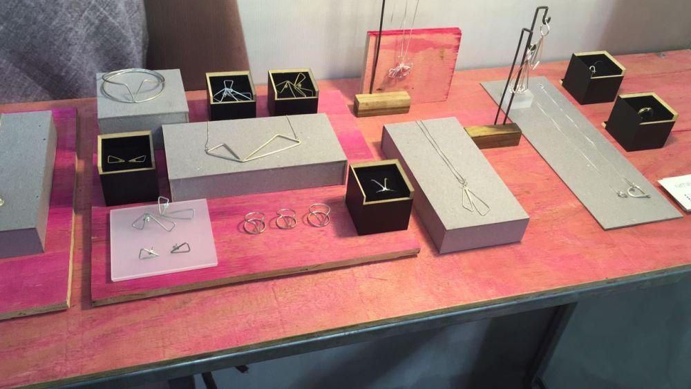 Algumas das joias expostas na Feira - arquivo pessoal