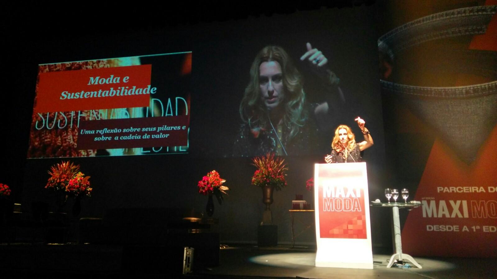 Chiara Gadaleta foi a primeira palestrante do MaxiModa 2017