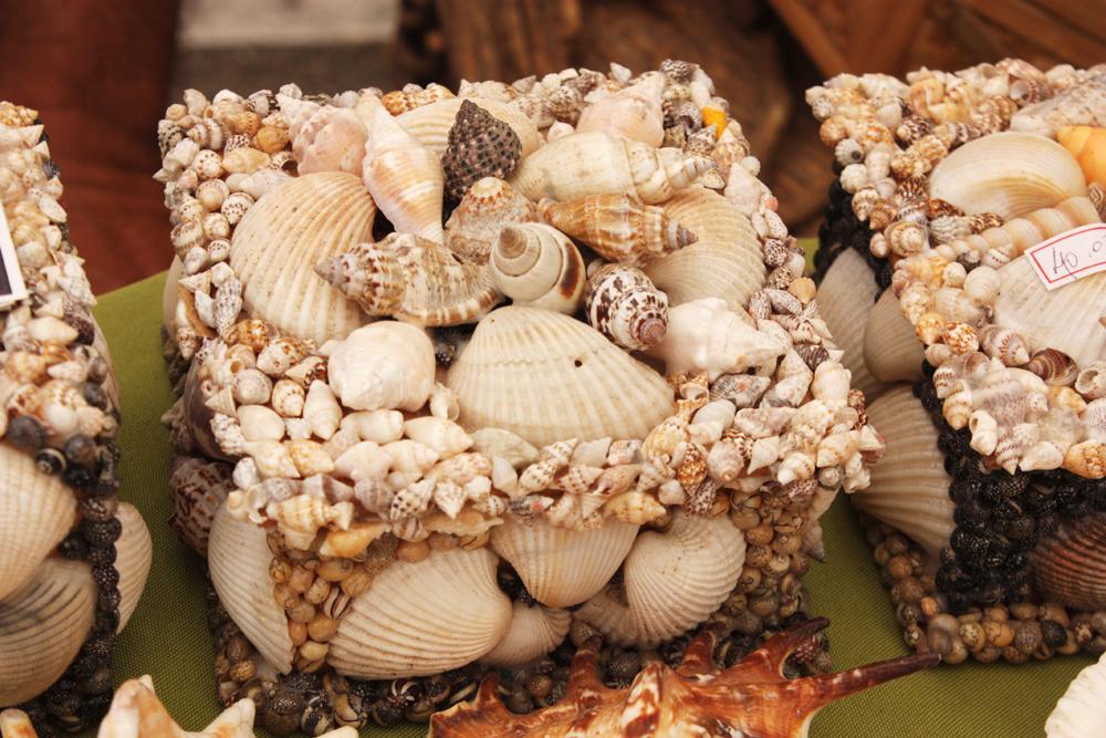Caixinhas de conchas, também muito sereiosas