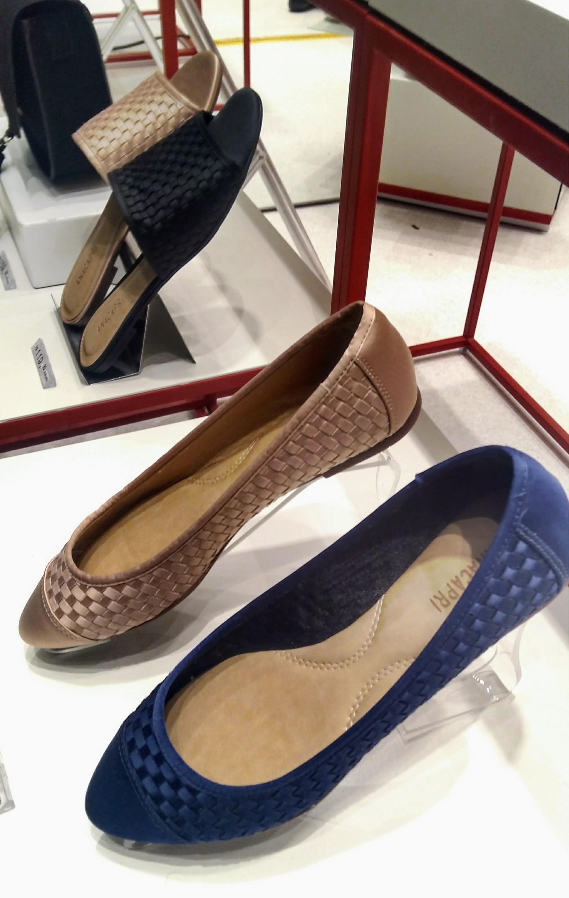Sapatilhas Cetim Blush e Azul Marinho R$139,90