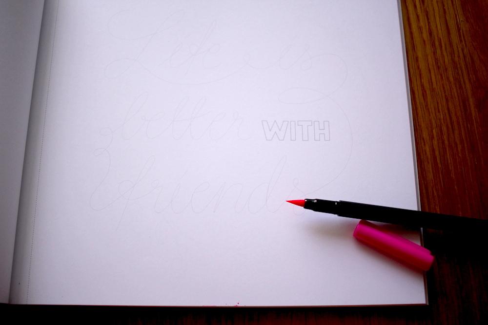 Livro Lettering - Penteadeira Amarela - 10