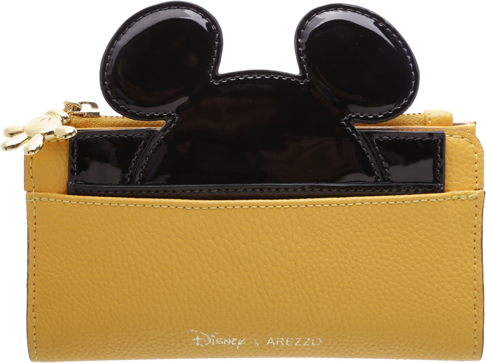 Essa carteira com as orelhas do Mickey e zíper com a mãozinha está linda demais! R$299,90