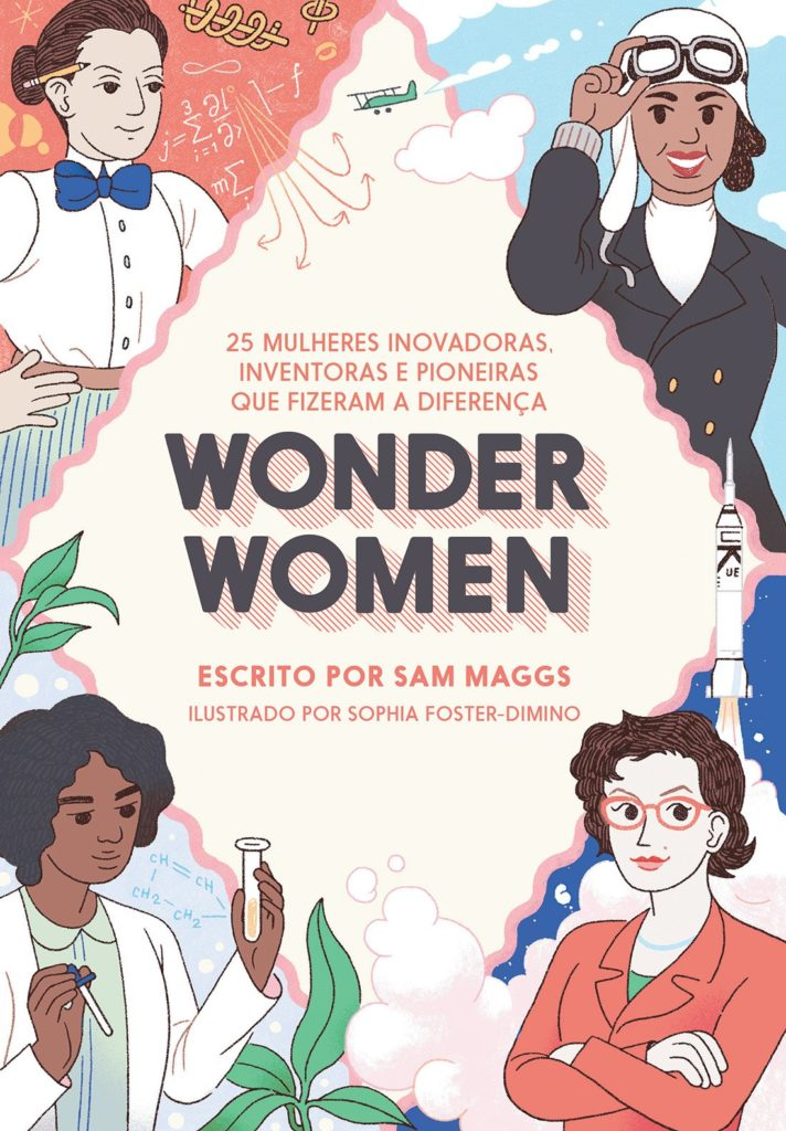 penteadeira amarela_wonder women_livros feministas