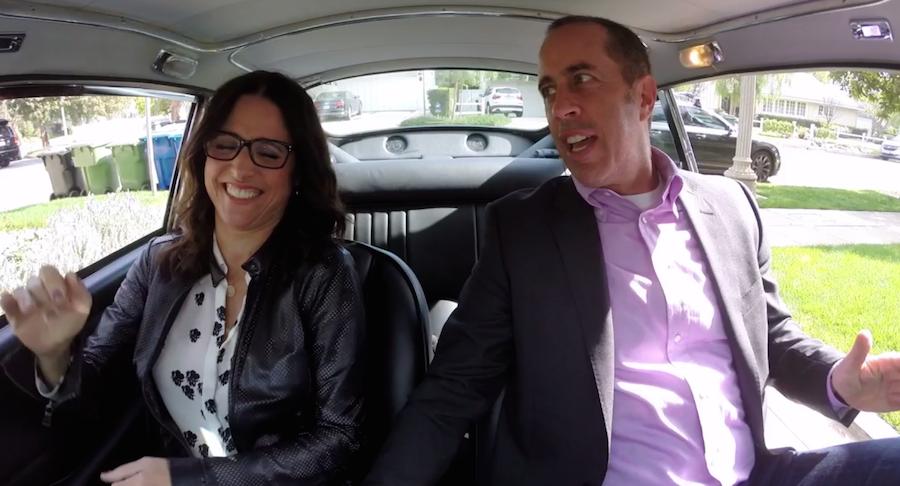 Jerry Seinfeld e Julia Louis-Dreyfus
