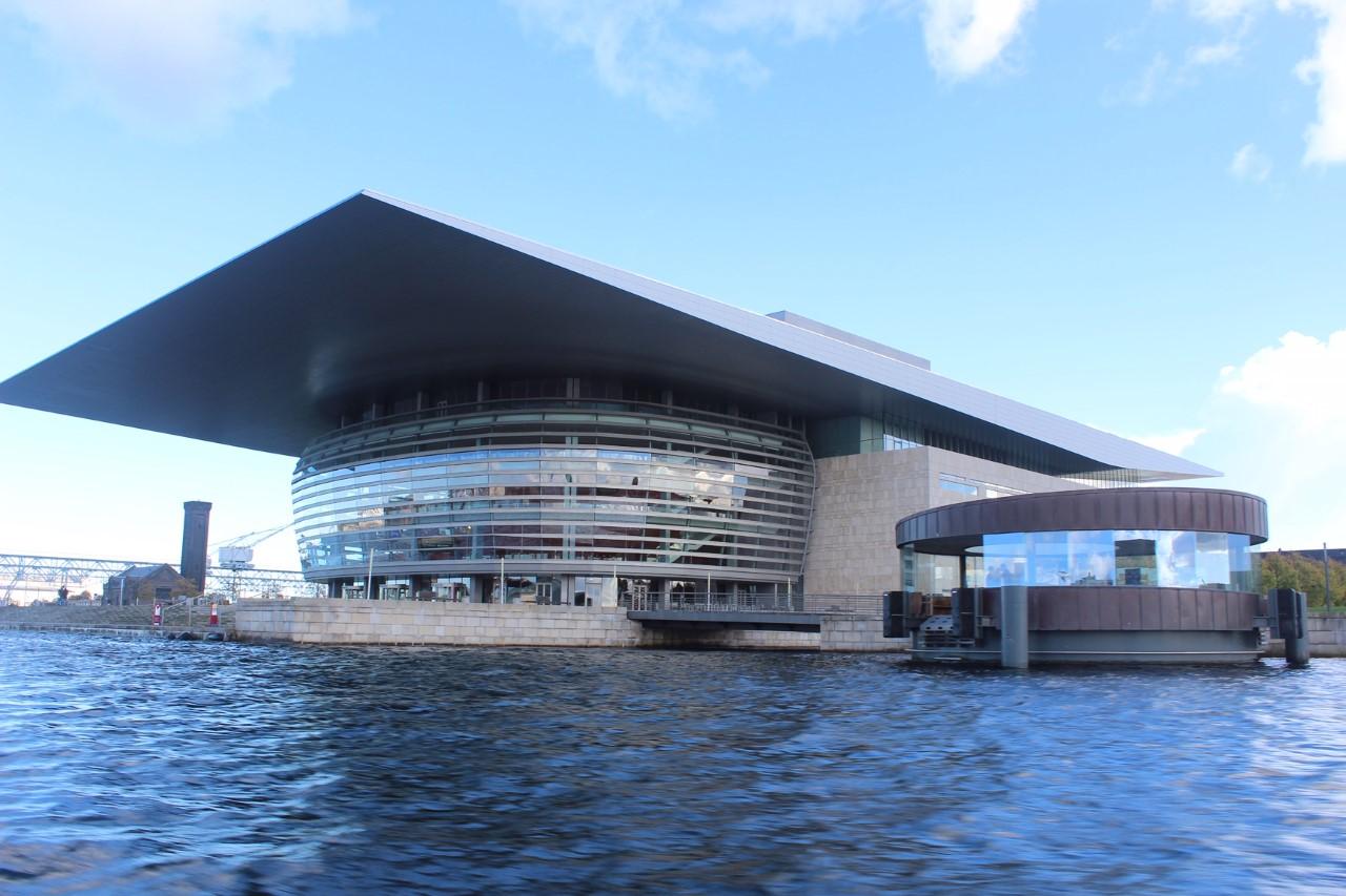 Opera de Copenhagen.