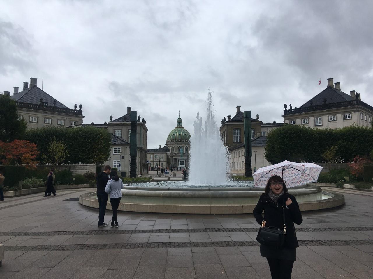 Amalienborg plads.