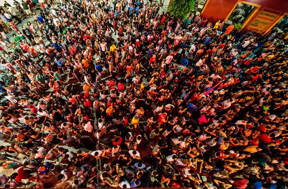 Bloco Chão da Praça no Centro Dragão do Mar/ Crédito: Luiz Alves