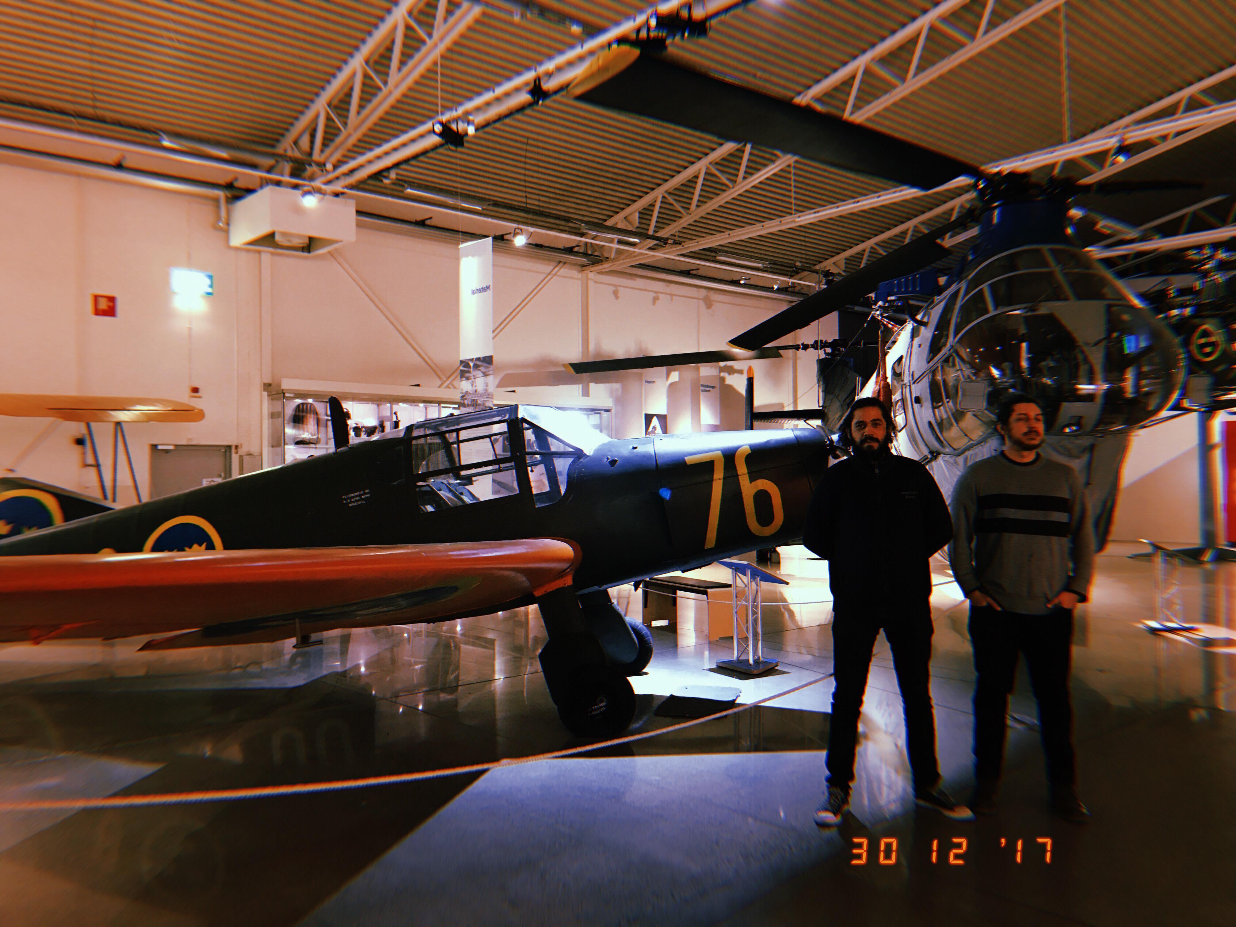 museu da forca aerea da suecia