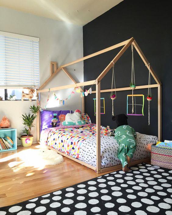 "A famosa ""cama casinha"". Fonte: Pinterest."