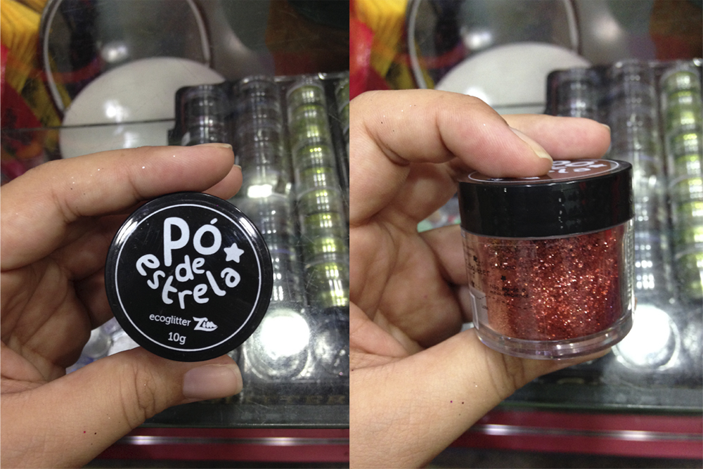 No Mundo das Maquiagens tem também o Pó de Estrela, glitter que não agride o meio ambiente, por R$ 20
