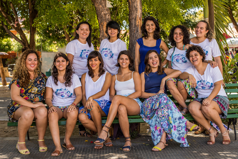 Bloco As Damas Cortejam fará apresentações no Mercado dos Pinhões e no Benfica
