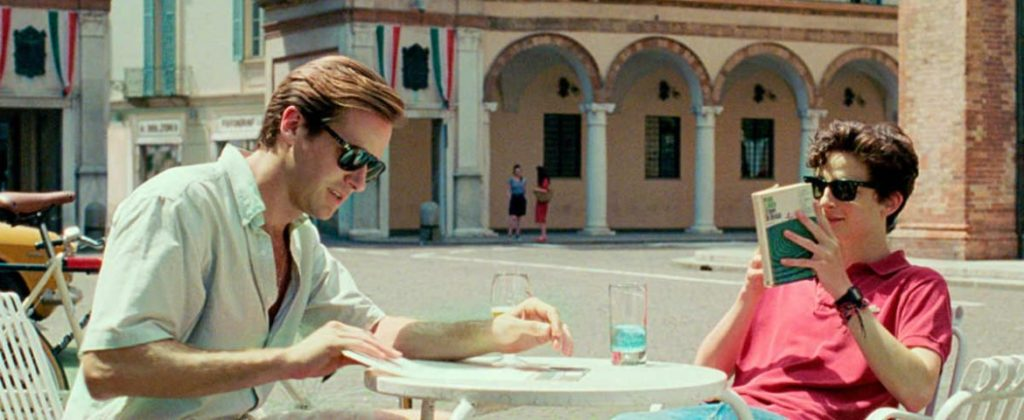 """Frame do filme """"Me chame pelo seu nome"""""""