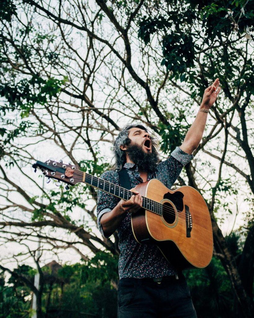 Valentin na última vez que esteve em Fortaleza. Ele aparece muito na playlist! Foto do Igor Barbosa