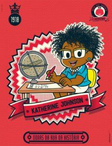 Donas da Rua Katherine Johnson