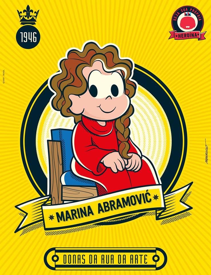 Donas da Rua Marina Abramovic
