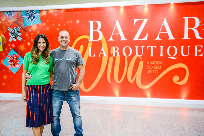 Manuela e Ângelo Bau, organizadores do BLB