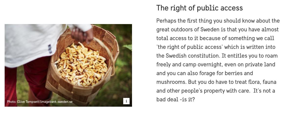 Do site VisitSweden.se