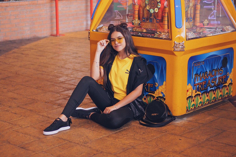 Maísa Silva é uma das embaixadoras da Puma no Brasil