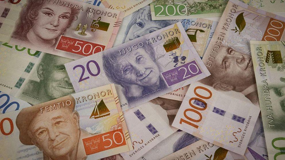 O dinheiro na Suécia traz personalidades como a escritora Astrid Lindgren (autora de Pippi Meia-Longa), a atriz Greta Garbo e o cineasta Ingmar Bergman