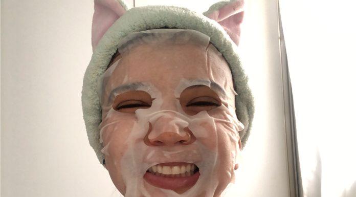 Mascara facial coreana