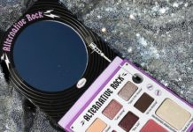 alternative rock paleta thebalm penteadeira amarela capa