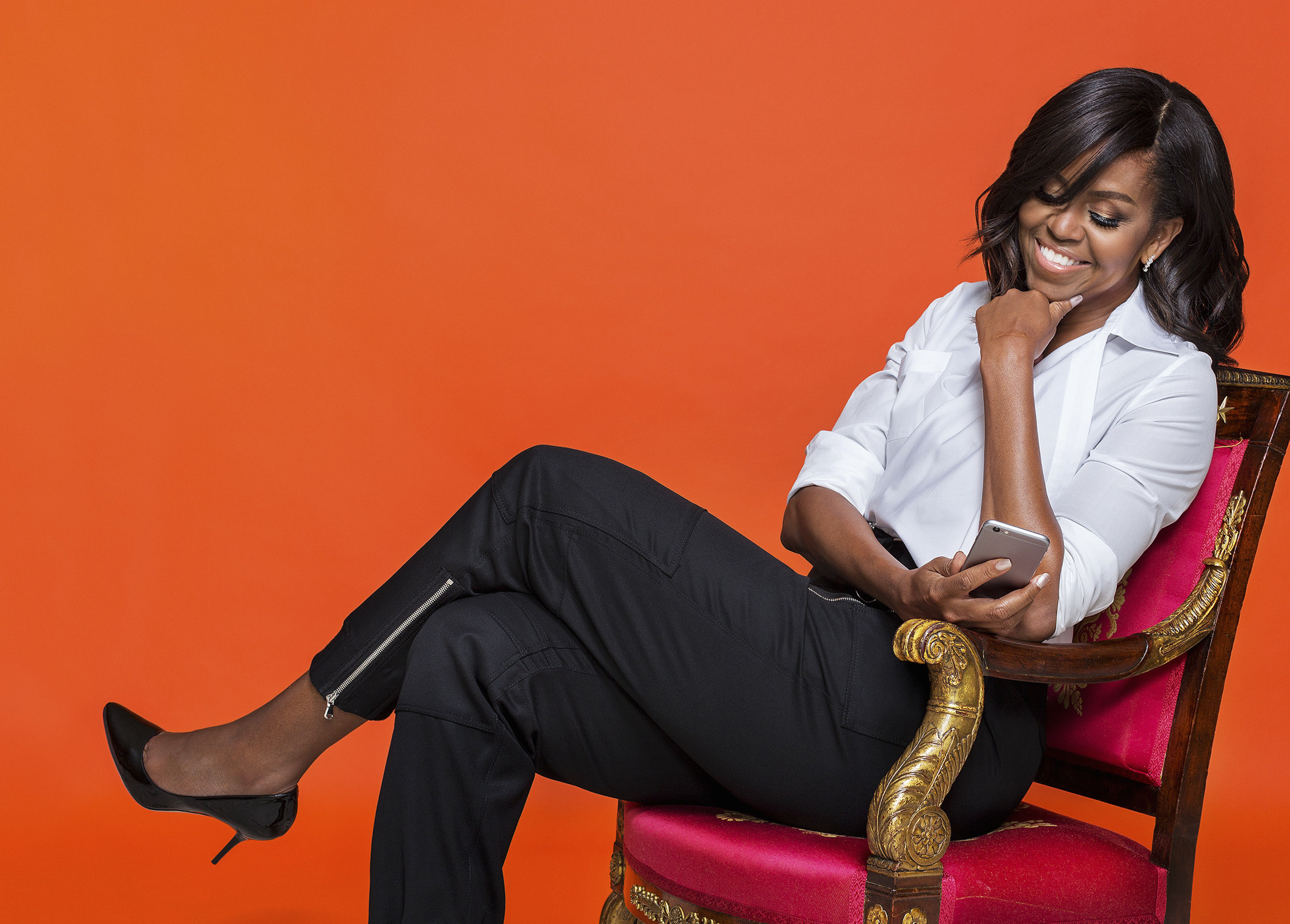 Michelle Obama para The Verge