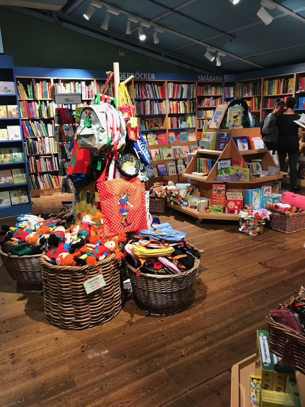 A maior livraria infantil da Suécia